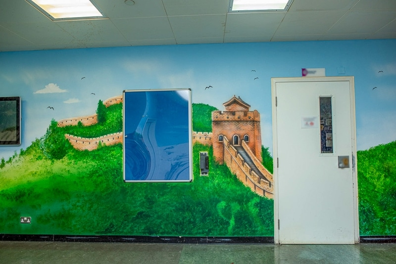 The Great Wall of China wall mural