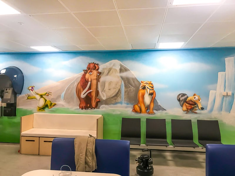 Ice Age Disney Mural