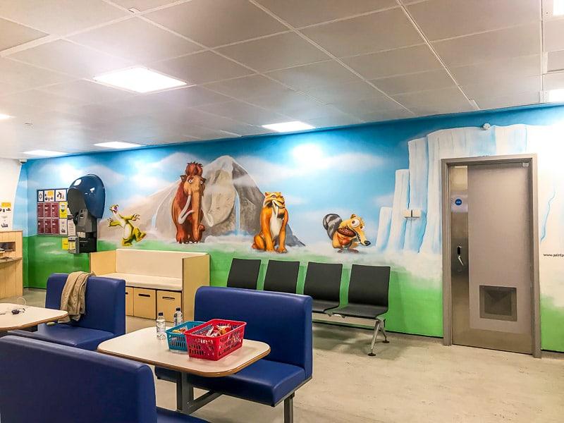 Ice Age Movie Disney Wall Mural