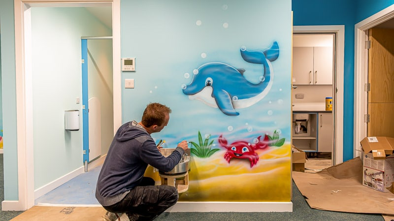 nursery murals london