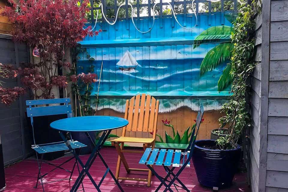 Amazing murals for your Garden