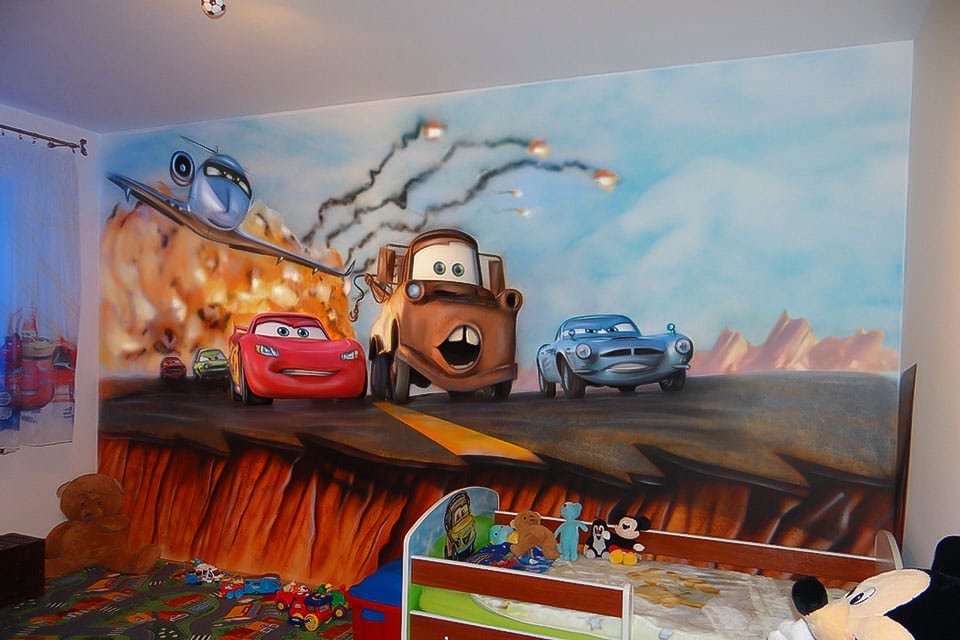 Cars - Hand Painted Walls