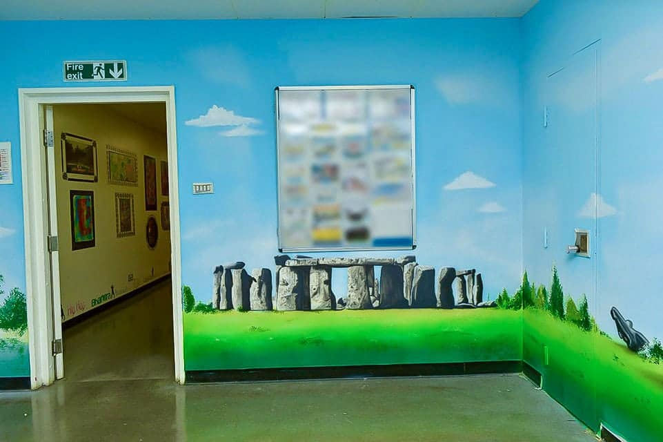 Beautiful Stonehenge wall mural