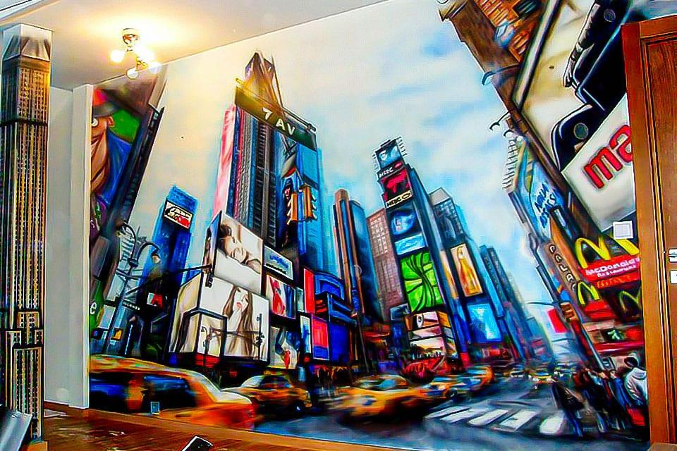 Fabulous New York City mural